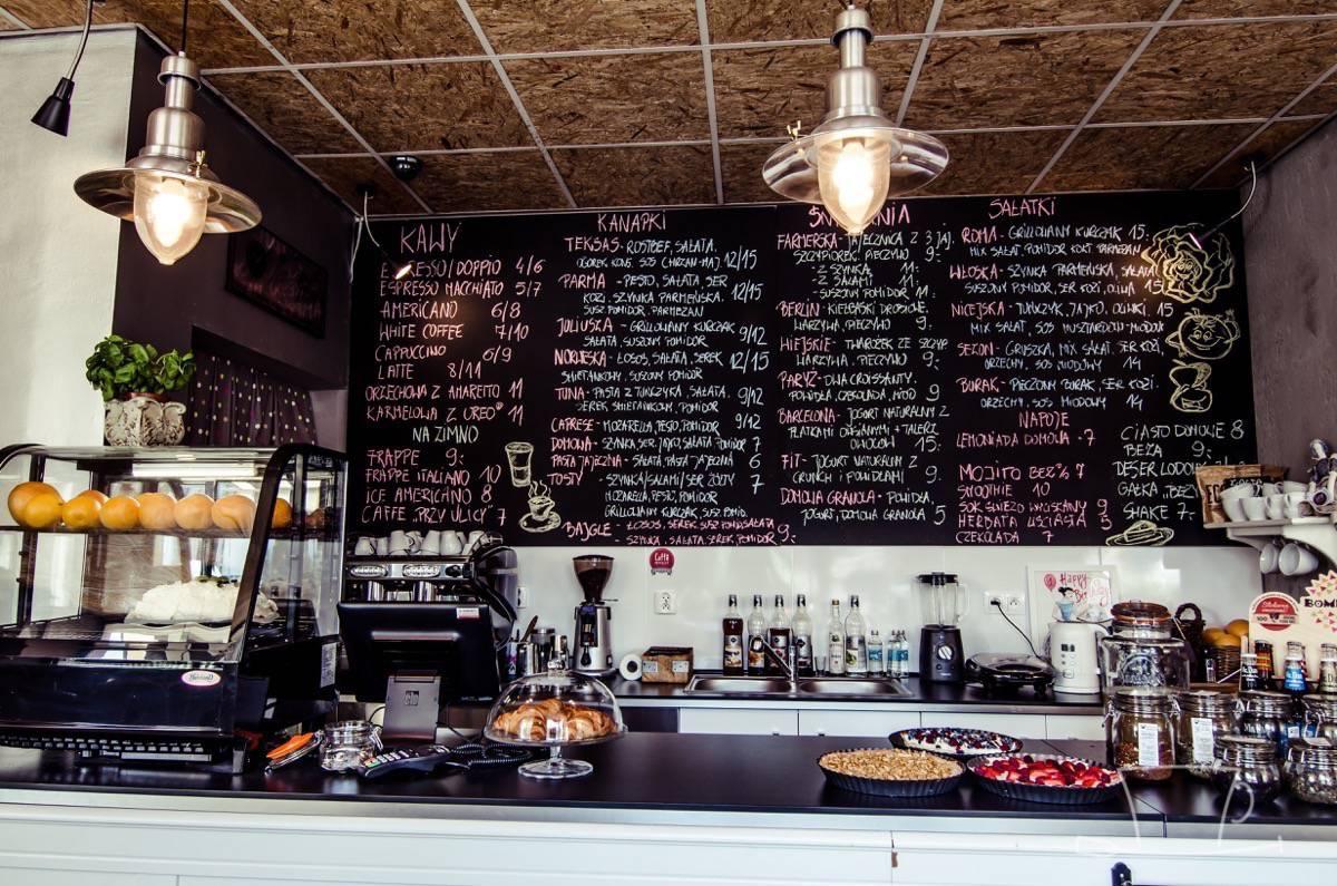 Caffe przy ulicy 1